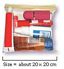 Plastic bag dimensions