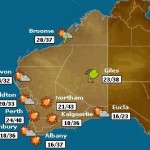Perth Weather - Click Map to see a larger version of todays forecast