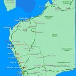 Western Australia Road Trip Map