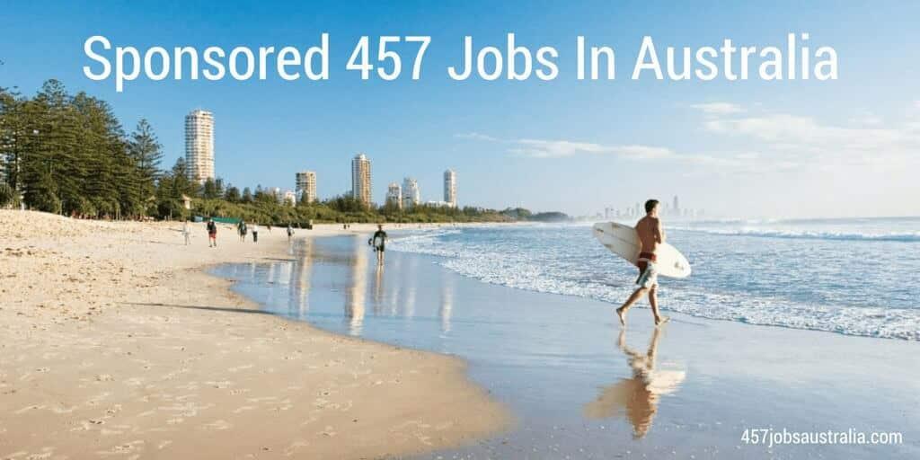 457 Jobs Australia