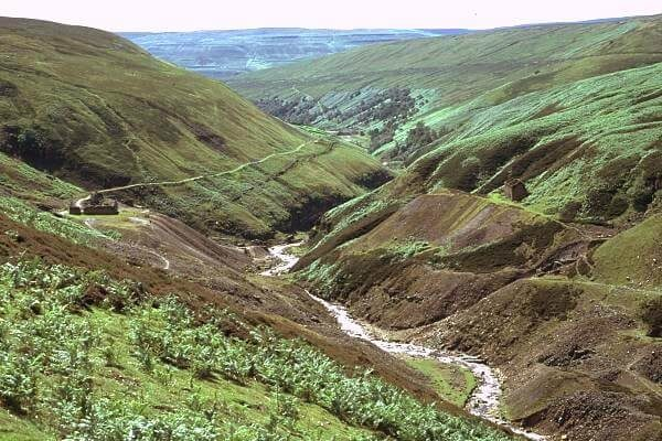 Pennines in Yorshire