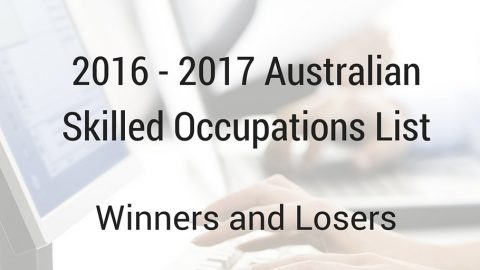Australia Skilled Occupations List 2016 – 2017