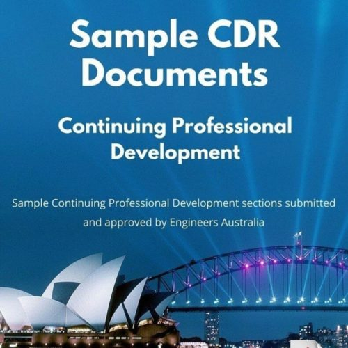 CDR Continuing Professional Development examples