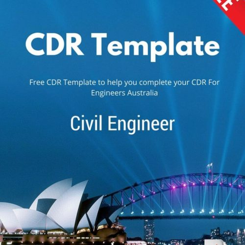Free Civil Engineer CDR Template