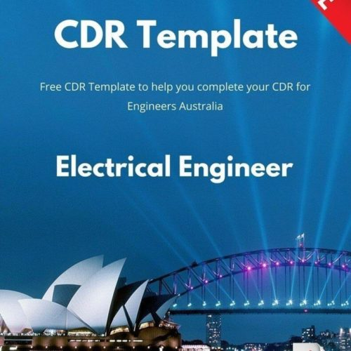 Free Electrical Engineer CDR Template