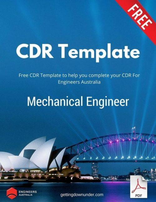 Mechanical Engineer CDR Template