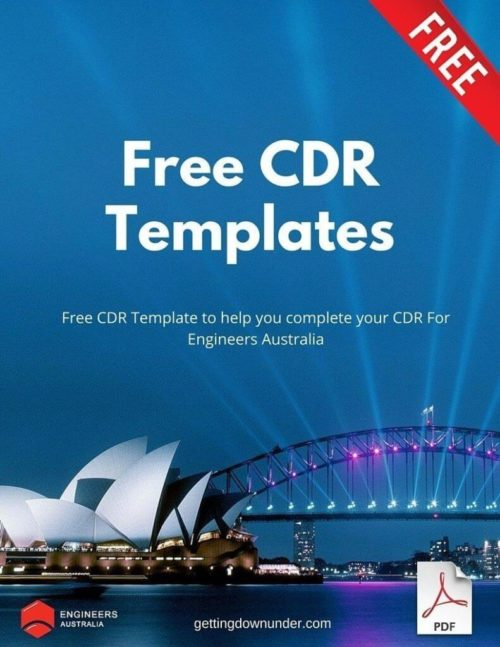 Free CDR Templates