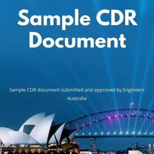 Sample CDR Document