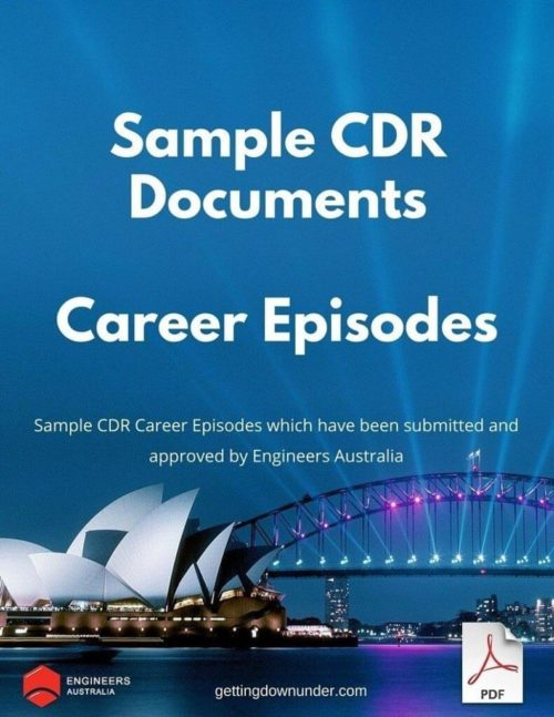 CDR Career Episode Examples