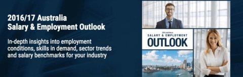2016 / 2017 Australia Salary & Employment Outlook