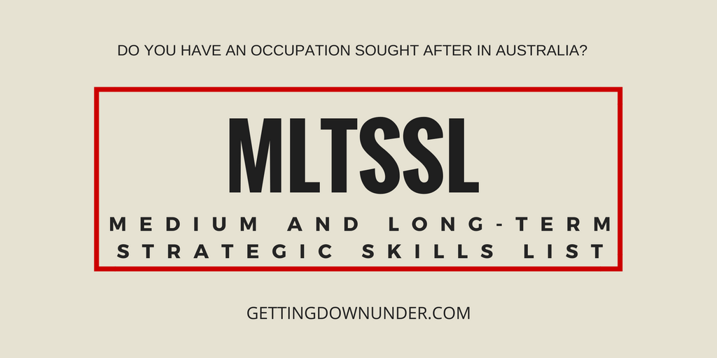 MLTSSL -Medium and Long-term Strategic Skills List