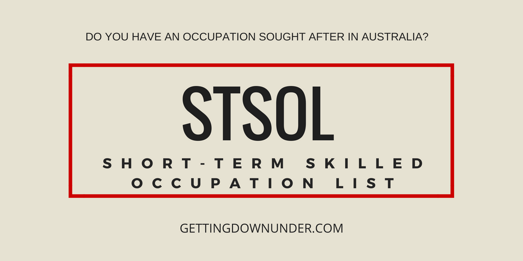 STSOL - Short-term Skilled Occupation List