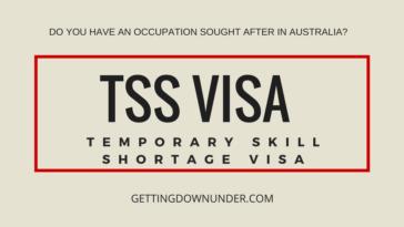 TSS Visa - Temporary Skill Shortage Visa