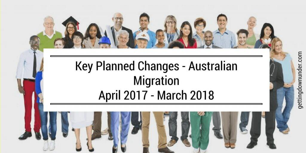 australia migration planned changes