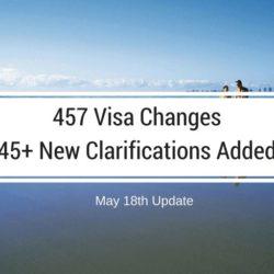 457 visa changes latest