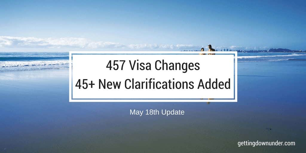 457 Visa Changes Latest