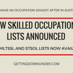 2017-2018 Skilled Occupations Lists Announced