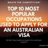 Top 10 Popular Occupations When Applying For An Australian Visa