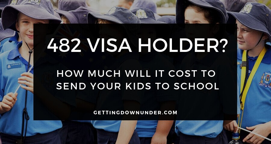 482 Visa School Fees