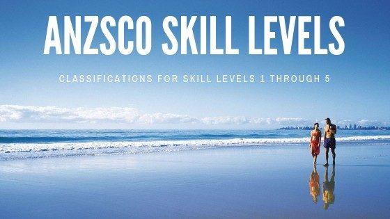 ANZSCO Skill level classification