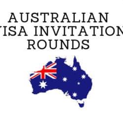 Australian Visa Skilled Select Invitation Rounds.