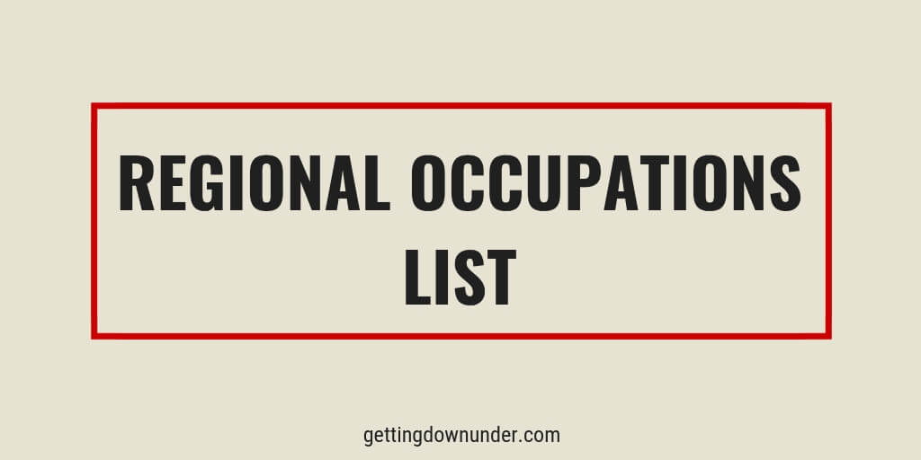 australia regional occupations list rol