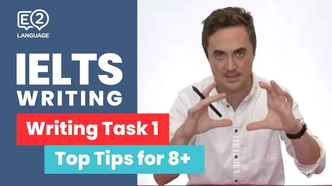 IELTS Academic Writing Task 1 | Top Tips for 8+ with Jay! - IELTS Writing Videos - E2 IELTS Academic Writing Task 1 Top Tips for
