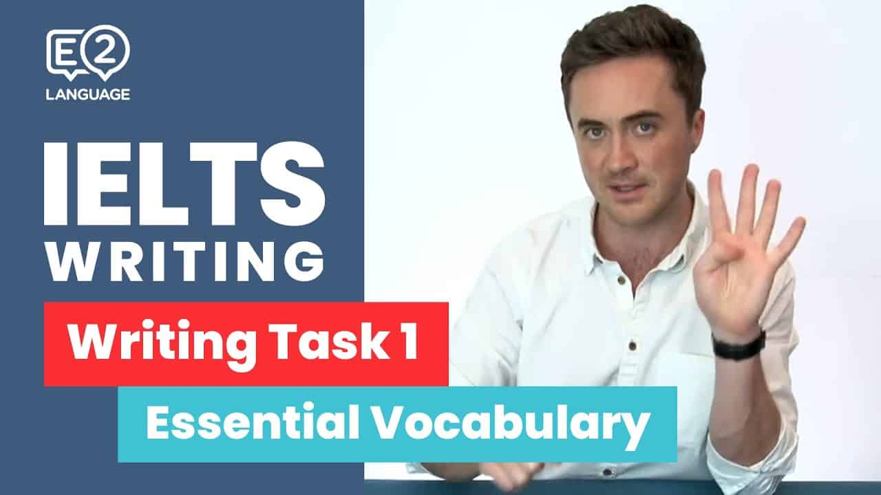 E2 IELTS Academic | Writing Task 1 with Jay | Essential Vocabulary - vocabulary words - E2 IELTS Academic Writing Task 1 with Jay