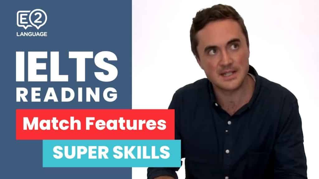 E2 IELTS: Reading | Match Features | SUPER SKILLS with Jay! - E2 IELTS Reading Match Features SUPER SKILLS with - Getting Down Under e2, e2 ielts, e2 ielts academic, e2 ielts reading, e2 jay, e2 language, e2 language ielts, e2language ielts, English, esl, how to, IELTS, IELTS academic, ielts course, ielts e2, ielts listening, ielts listening test, ielts listening test 2018, ielts practice, ielts preparation, ielts reading, ielts reading test, ielts reading tips, ielts speaking, ielts tips, ielts tips and tricks, ielts writing, ielts writing task 1, ielts writing task 2, IELTS-Test, listening ielts