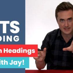Ielts: Reading | Match Headings With Jay! - Ielts Preparation Videos - April 2021