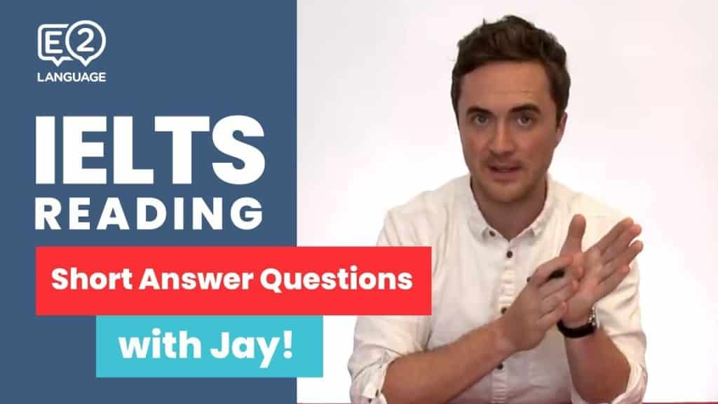 IELTS Reading | Short Answer Questions with Jay! - E2 IELTS Reading Short Answer Questions with Jay - Getting Down Under IELTS Preparation Videos