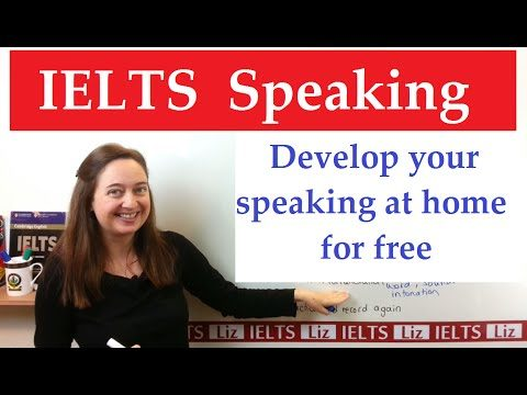 How to improve your IELTS Speaking at Home - How to improve your IELTS Speaking at Home - Getting Down Under IELTS Speaking Videos
