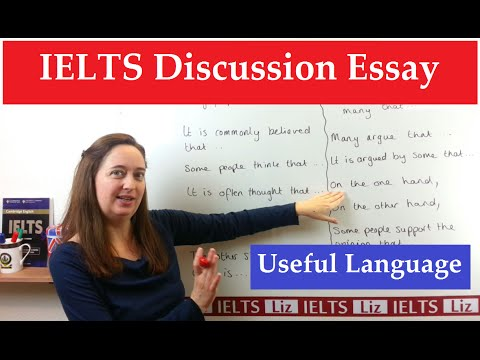 IELTS Discussion Essay: Useful Academic Expressions - IELTS Preparation Videos - IELTS Discussion Essay Useful Academic