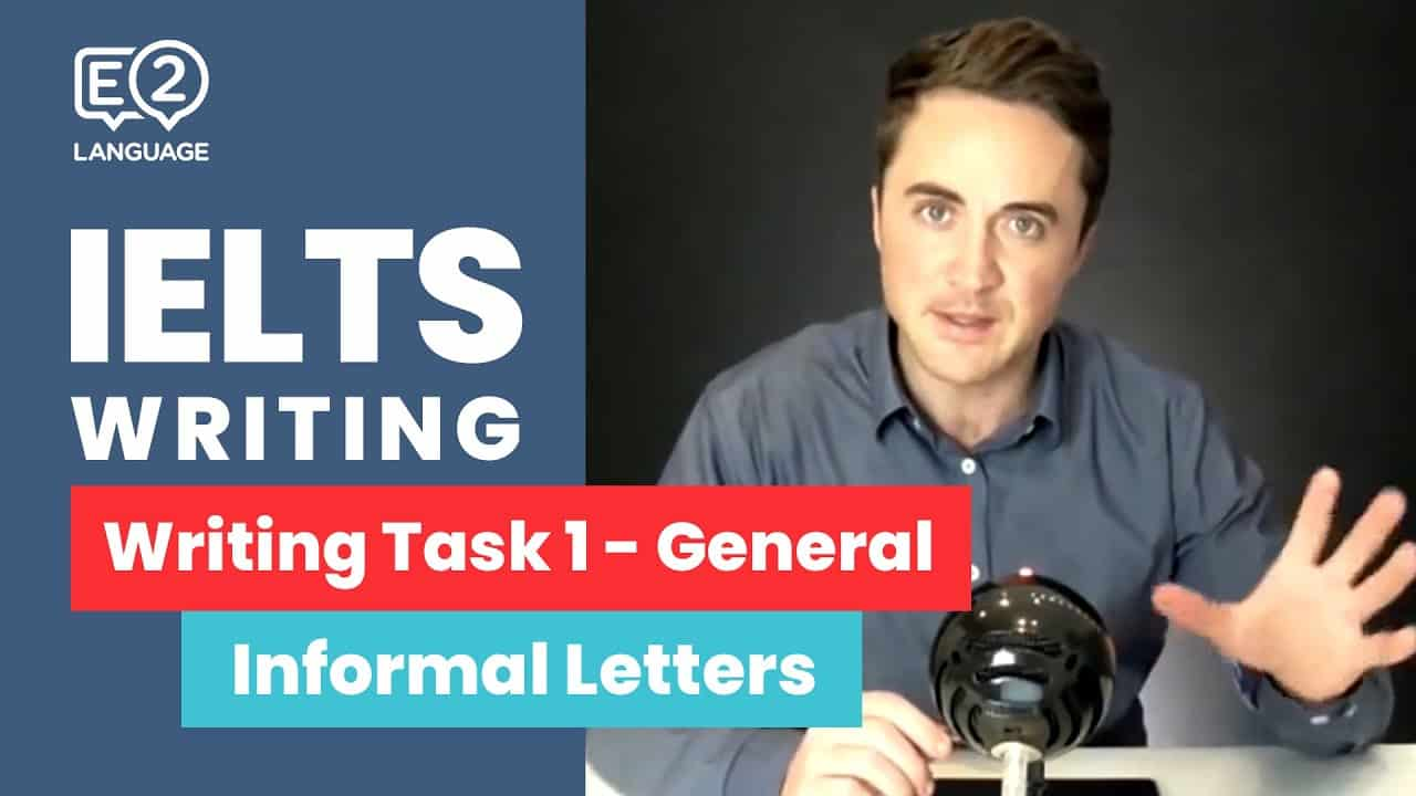 IELTS General Writing Task 1: Informal Letters | 6 STEP METHOD with Jay! - IELTS Writing Videos - IELTS General Writing Task 1 Informal Letters 6 STEP