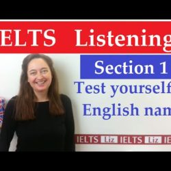 IELTS Listening: English Names - IELTS, ielts listening, ielts speaking, ielts writing, IELTS-Test - IELTS Listening English Names