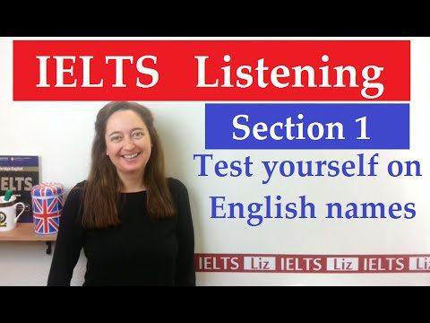 IELTS Listening: English Names - IELTS Listening English Names - Getting Down Under IELTS, ielts listening, ielts speaking, ielts writing, IELTS-Test