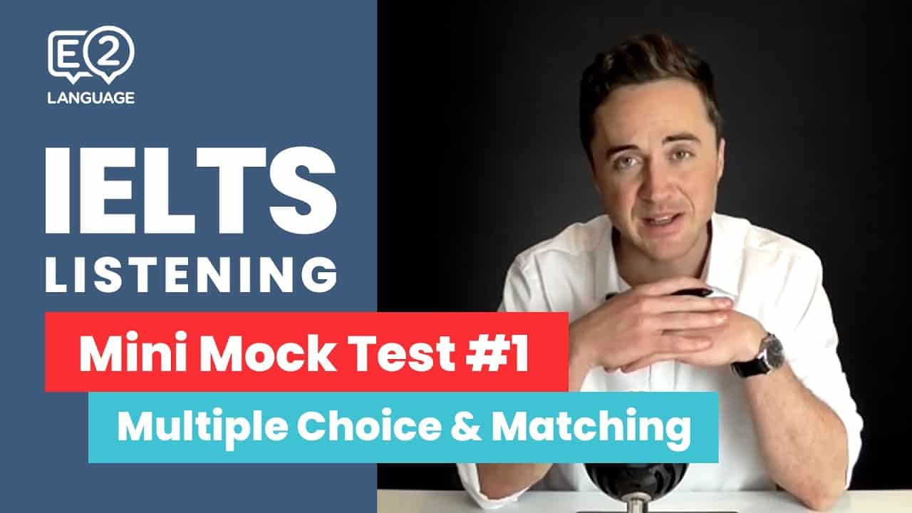 IELTS Listening: Mini Mock Test 1 | MULTIPLE CHOICE and MATCHING! - IELTS, IELTS academic, ielts course, IELTS general, ielts listening, ielts listening matching, ielts listening mock test, ielts listening practice, ielts listening task, ielts listening tips, ielts speaking, ielts writing, IELTS-Test - IELTS Listening Mini Mock Test 1 MULTIPLE CHOICE and