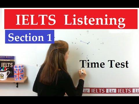 IELTS Listening Section 1: Time Test - IELTS, ielts listening, ielts speaking, ielts writing, IELTS-Test - IELTS Listening Section 1 Time Test