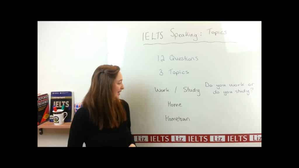 IELTS Speaking Part 1 Topics - IELTS Speaking Part 1 Topics - Getting Down Under IELTS, ielts listening, ielts speaking, ielts writing, IELTS-Test