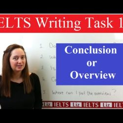 IELTS Writing Task 1: Conclusion or Overview - IELTS, ielts listening, ielts speaking, ielts writing, IELTS-Test - IELTS Writing Task 1 Conclusion or Overview
