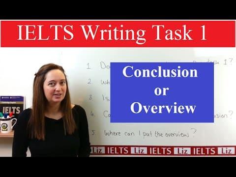 IELTS Writing Task 1: Conclusion or Overview - IELTS Writing Task 1 Conclusion or Overview - Getting Down Under IELTS, ielts listening, ielts speaking, ielts writing, IELTS-Test