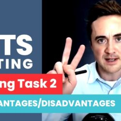 IELTS Writing Task 2 | ADVANTAGES / DISADVANTAGES ESSAY with Jay! - English lesson, esl, IELTS, IELTS academic, ielts advantages disadvantages, ielts class, ielts essay, ielts faqs, IELTS general, ielts listening, ielts preparation, ielts reading, ielts speaking, ielts tutorial, ielts writing, ielts writing help, ielts writing sentences, ielts writing task 2, ielts writing tips, IELTS-Test - IELTS Writing Task 2 ADVANTAGES DISADVANTAGES ESSAY with