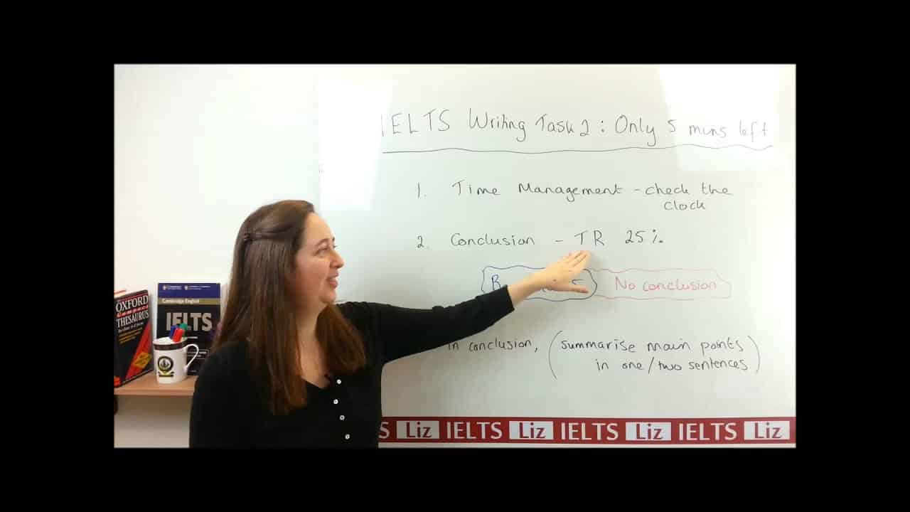 IELTS Writing Task 2: Only 5 minutes left and you haven't finished your essay - IELTS, ielts listening, ielts speaking, ielts writing, IELTS-Test - IELTS Writing Task 2 Only 5 minutes left and you