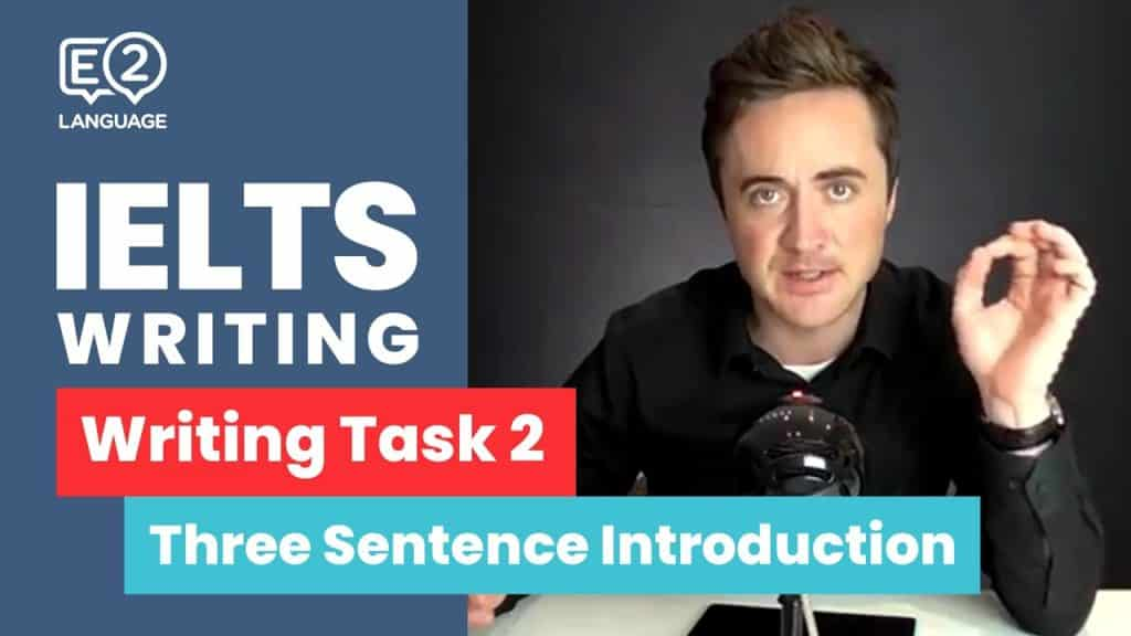 IELTS Writing Task 2: The 3 Sentence Introduction - IELTS Writing Task 2 The 3 Sentence Introduction by Jay - Getting Down Under IELTS Writing Videos