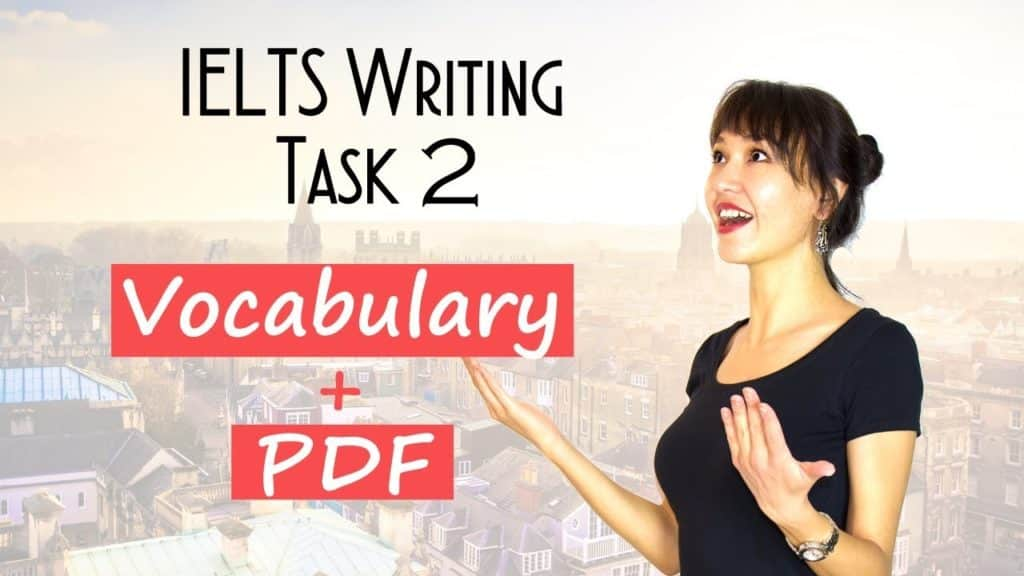 IELTS Writing Task 2 VOCABULARY for Band 7+ | Must-know SYNONYMS - Getting Down Under IELTS, ielts listening, ielts speaking, ielts writing, IELTS-Test