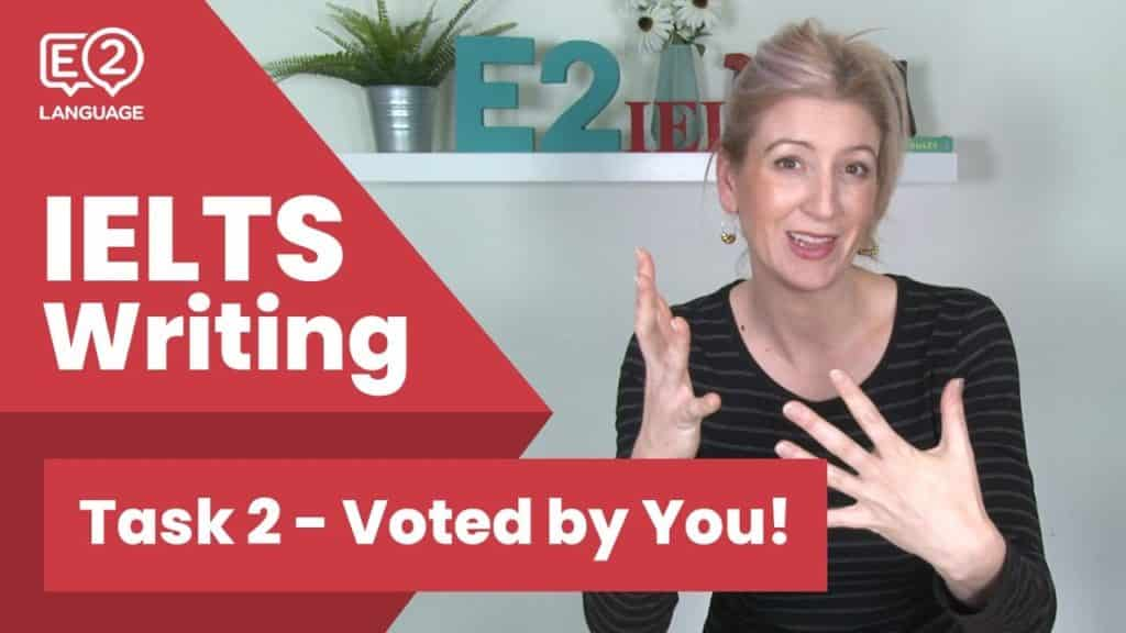 IELTS Writing Task 2 - Voted by You! #E2Tasks with Alex - IELTS Writing Task 2 Voted by You E2Tasks with - Getting Down Under IELTS Preparation Videos