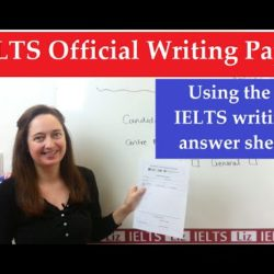 IELTS Writing: Using the Official Answer Sheet - IELTS, ielts listening, ielts speaking, ielts writing, IELTS-Test - IELTS Writing Using the Official Answer Sheet