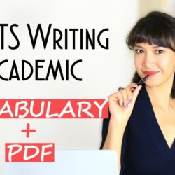 Ielts Writing Vocabulary: Task 1 Academic + Pdf - Ielts Preparation Videos - April 2021