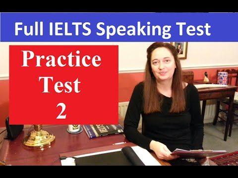 Practice IELTS Speaking Test: Number 2 - Practice IELTS Speaking Test Number 2 - Getting Down Under IELTS, ielts listening, ielts speaking, ielts writing, IELTS-Test