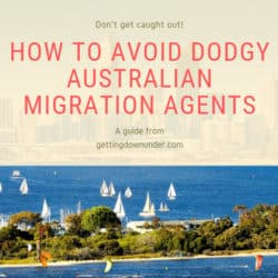 Australian migration agents - how to avoid dodgy agents
